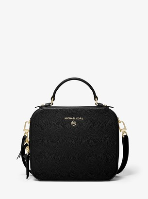 MICHAEL Michael Kors Jet Set Medium Pebbled Leather Crossbody Bag