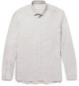 Oliver Spencer Clarkenwell Slim-Fit Cotton-Flannel Shirt