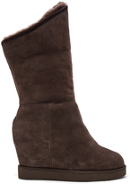 Australia Luxe Collective Cosy Shearling Lined Tall Wedge Boot