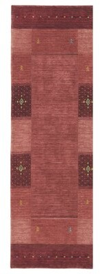 """Company C Seville Handwoven Wool Red Area Rug CompanyC Rug Size: Runner 2'6"""" x 8'"""