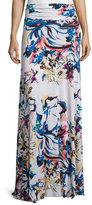 Rachel Pally Long Printed Full Skirt, Botanical, Plus Size