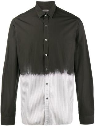 Lanvin Overdyed Pinstripe Shirt