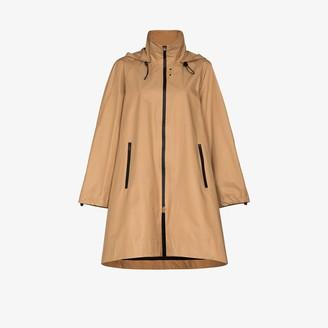 Low Classic Oversized Flared Raincoat