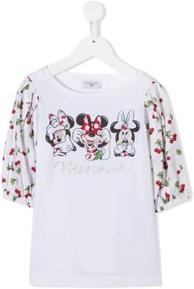 MonnaLisa Minnie mouse print top