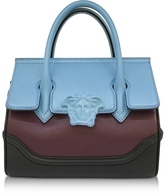 Versace Palazzo Empire Color Block Leather Satchel Bag