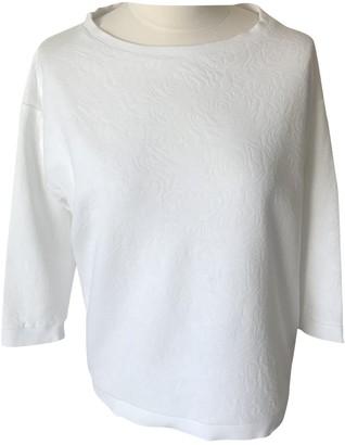 Gas Jeans White Cotton Knitwear for Women