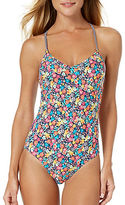 Anne Cole Floral Crossback Swimsuit
