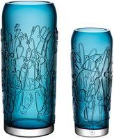 Kosta Boda Twine Vase in Blue