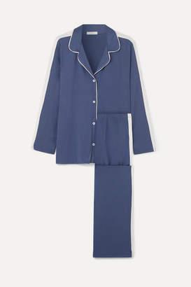 Eberjey Gisele Stretch-modal Jersey Pajama Set - Navy