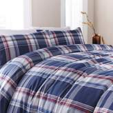 Linea Yarn dyed check duvet cover set