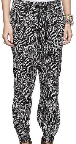 Forever 21 Zebra Harem Pant