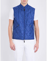 Canali Reversible Wool-blend Gilet