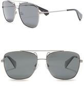 Polaroid Aviator 59mm Sunglasses