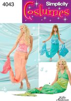 Simplicity Sewing Pattern 4043 Child, Girl and Misses' Costumes