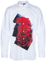 Paul Smith abstract rose print shirt