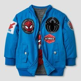 Spiderman Baby Boys' Marvel Fashion Jacket - Blue