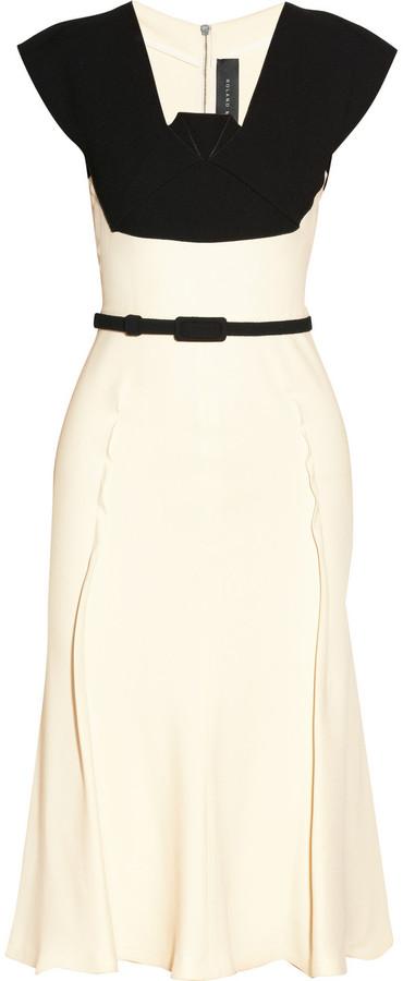 Roland Mouret Mercy stretch-crepe dress