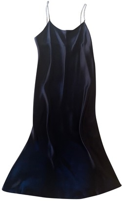 Michael Lo Sordo Black Silk Dresses