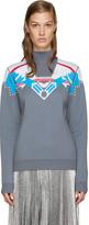 Peter Pilotto Grey Ski Knit Sweater