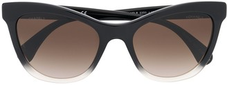 Chanel Pre Owned Cat-Eye Sunglasses