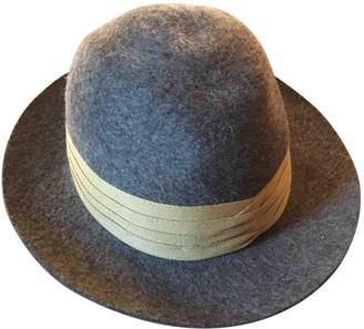 Burberry Khaki Wool Hats