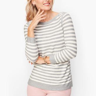 Talbots Link Stitch Sweater - Stripe