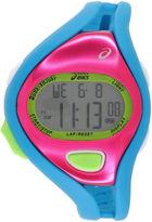 Asics Blue/Pink Ar05 Runner Unisex Multicolor Strap Watch-Cqar0503y