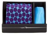 Ted Baker Devon Dot Silk Tie & Pocket Square Set
