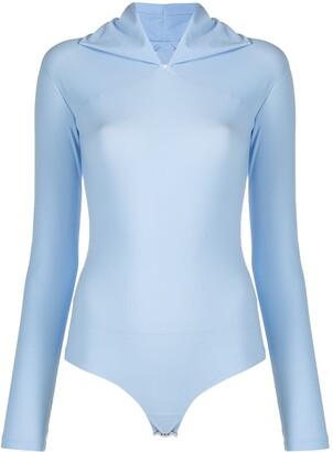 MM6 MAISON MARGIELA Scarf-Neck Bodysuit