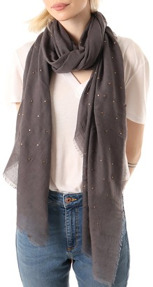 Style Slice Evening Pashmina for Women - Scarfs Silver Sparkle - Light Dark Grey Pink Taupe - Long Autumn Summer Ladies Scarves Wraps Shawls Shrugs - Wedding Fashion Accessories