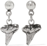 Dannijo Otto Oxidized Silver-plated Earrings - One size