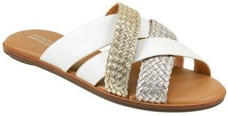 Aerosoles x Martha Stewart Slip-On Leather Sandals - Sandra
