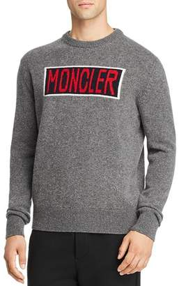 Moncler Logo-Front Wool Sweater