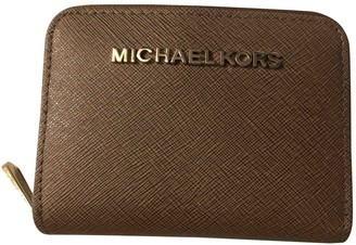 Michael Kors Brown Leather Wallets