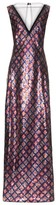 Marc Jacobs Tulle-panel Sequin-embellished Gown - Womens - Navy Multi