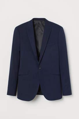 H&M Skinny Fit Blazer - Blue