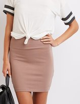 Charlotte Russe High-Waisted Bodycon Mini Skirt