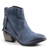 Diba Navy Joane Leather Ankle Boot