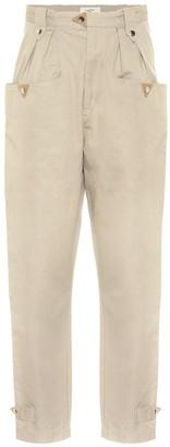 Etoile Isabel Marant Pulcie high-rise cotton pants