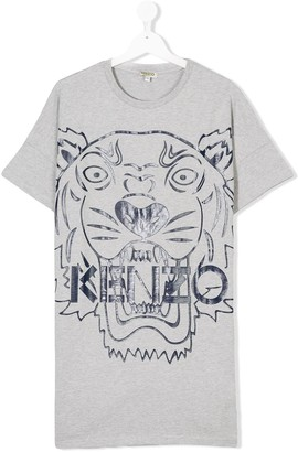 Kenzo Teen tiger T-shirt dress