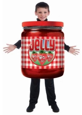 BuySeasons Toddler Boys and Girls Jelly Child Costume