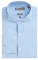 Michael Bastian Men's Trim Fit Micro Foulard Dress Shirt