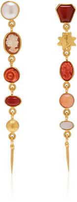 Grainne Morton Five Charm Victorian Drop Earrings