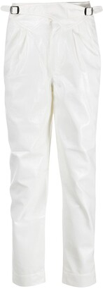 Rotate by Birger Christensen High Waist Tapered Trousers