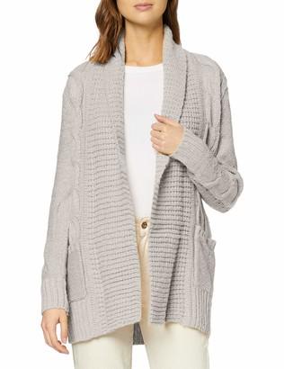 New Look Women's OP19 CABLE MLA CARDIGAN Sweater