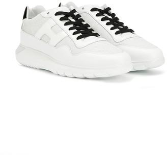 Hogan TEEN two tone sneakers