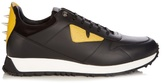 Fendi Bag Bugs Leather Trainers