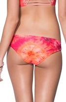 Maaji Women's Throwback Thursday Signature Cut Reversible Bikini Bottoms