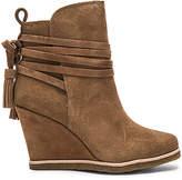 Splendid Tabitha Wedge Heel Bootie in Brown