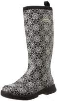 Muck Boots Breezy Tall Print, Women Warm Lining Rain Boots,(37 EU)